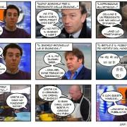 Banana ne fa cento e mi tira dentro! Nostra intervista esclusiva al vignettista che fa incazzare la politica sarda
