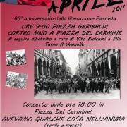Ma cali Pasquetta, lunedì è il 25 aprile! Tre buoni motivi per essere in piazza a Cagliari contro i vecchi e i nuovi fascismi