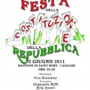 E adesso tutti in piazza a festeggiare la Repubblica nata dalla Costituzione! Ci vediamo giovedì 2 giugno al Bastione San Remy di Cagliari