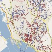 Comunali a Cagliari: in un grafico interattivo, tutto il voto sezione per sezione! A Zedda il centro, a Fantola le periferie