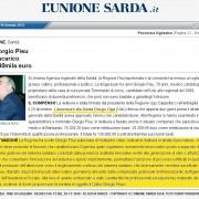 """Ultime dall'Ogliastra: """"Macché De Francisci, l'assessore alla Sanità è… Giorgio Oppi""""! E se lo scrive l'Unione Sarda vuol dire che è vero!"""