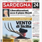 """""""Ma quale Sicilia! La foto simbolo dei Movimento dei Forconi l'ho fatta io al Matrimonio Selargino!"""". Eja, ma oggi è in prima pagina su Sardegna24!"""