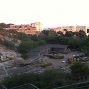 Esclusivo! Ecco le foto dell'incendio all'Anfiteatro romano di Cagliari! Le fiamme devastano il monumento abbandonato dalla Giunta Zedda!
