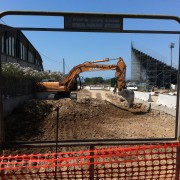 Cazzate epocali: il nuovo stadio del Cagliari a Quartu! Struttura insicura e sui lavori vigila perfino la Soprintendenza archeologica! Nostro fotoreportage da Is Arenas