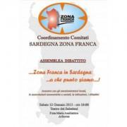 In Sardìnnia contras a custa crisi econòmica no serbint curas omeopàticas, nci bolit sa Zona Franca!