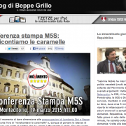 """""""Ma quale democrazia diretta! Nel blog di Grillo un trionfo di stupidaggini e banalità"""". Un intervento di Elio Turno Arthemalle"""