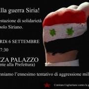 La Sardegna chiede la pace: l'appello del Comitato Cagliaritano contro la Guerra in Siria e un intervento di Enrico Lobina