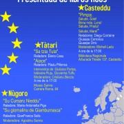 Die Europea de is Limbas: presentada de libros in Nùgoro, Tàtari e Casteddu