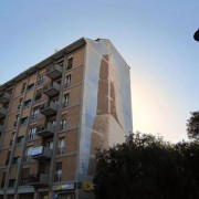 Distrutto il murale di Pinuccio Sciola in piazza Repubblica a Cagliari! E pure con il consenso del Comune!