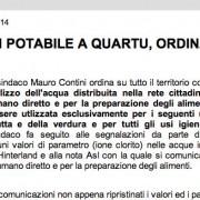 Cagliari e Quartu senz'acqua: quando la comunicazione è un disastro
