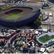 Silvestrone arroddugò! Ecco la vera immagine del nuovo Sant'Elia, lo stadio-mostro più grande del mondo!