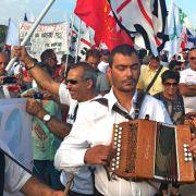 Su 13 de nadale in Casteddu segunda manifestada natzionale contra a s'ocupatzione militare