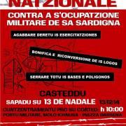 Sabato 13 tutti a Cagliari: perché la lotta contro le servitù militari non è solo degli indipendentisti