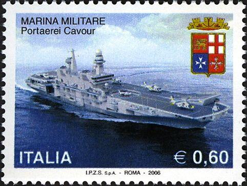 Portaerei_Cavour_francobollo