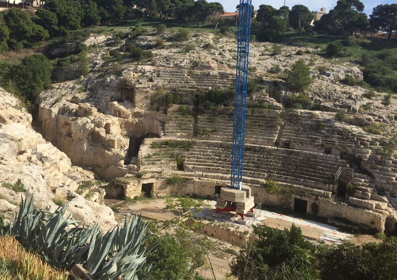 Anfiteatro romano 2017