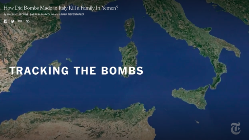 Verso le elezioni/1 – Bombe di Domusnovas, i candidati da che parte stanno? L'esposto del Comitato Riconversione RWM