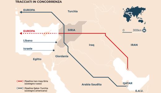 In Siria infuria la guerra del gas e la Sardegna vuole a tutti i costi il metano: come se niente fosse
