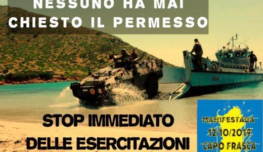 Verso Capo Frasca: quello strano silenzio sulle servitù militari
