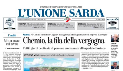 A Cagliari dieci ore di attesa per fare la chemio: ora la politica e il giornalismo mostrino il loro vero valore