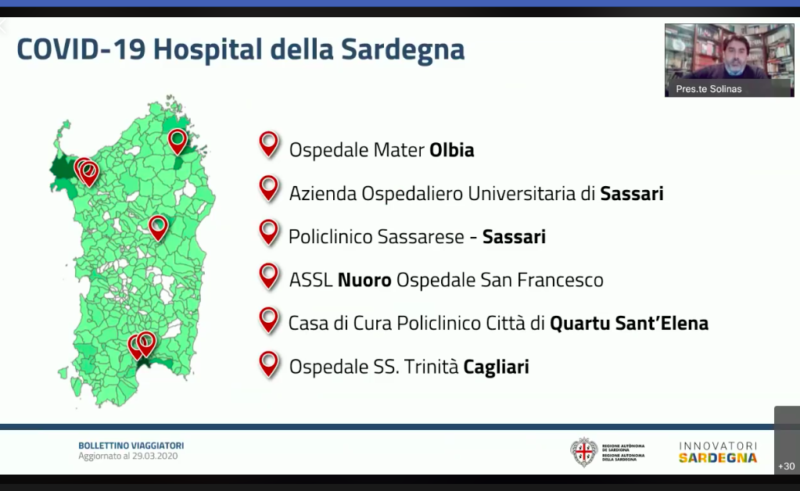 Coronavirus in Sardegna, lo straordinario regalo della giunta Solinas alle cliniche private